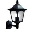 Elstead Chapel Mini CPM1 Black Outdoor Up Wall Lantern